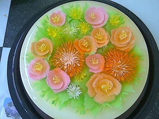 pink n orange flowers