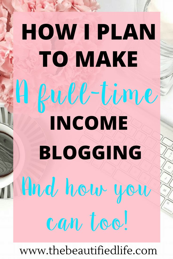 I'm going to show you exactly how I plan to make a full-time income blogging in 2017, and how you can too. It's the time of year where..