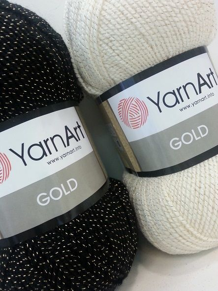 Yarn art Gold 100gr. 400 m.  4.00€
