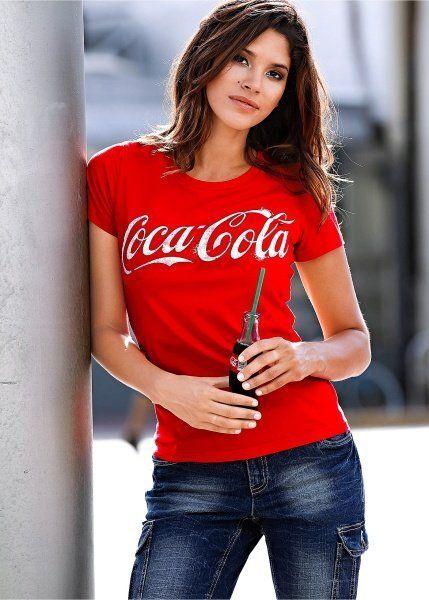 Fancy - Klassisches T-Shirt mit tollem Coca-Cola