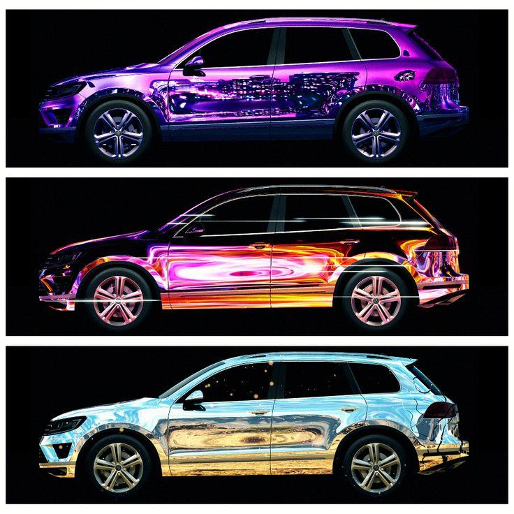 #3Dmapping на авто всегда выглядит эффектно! #Презентация #Volkswagen #Touareg #mapping #DreamLaser #3dsmax #videomapping #projection #VW #DL #проекционноешоу