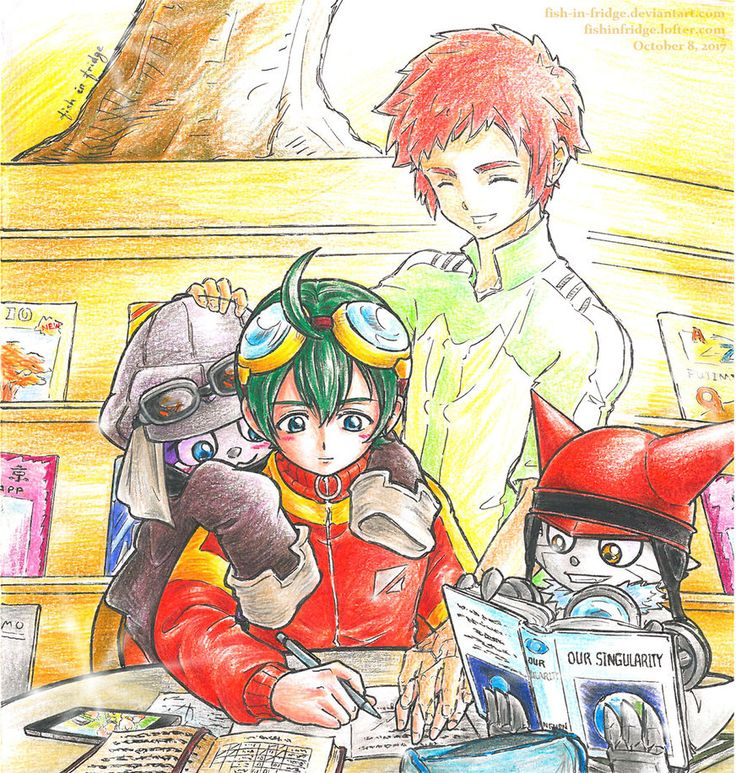 [APPMON] Our Singularity by fish-in-fridge