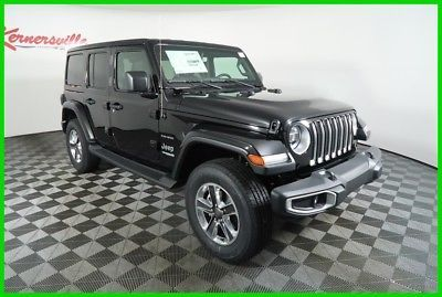 2018 Jeep Wrangler Sahara 4WD V6 SUV Leather Navigation Backup Camera 2018 Jeep Wrangler Unlimited Sahara 4WD V6 SUV Leather Navigation…