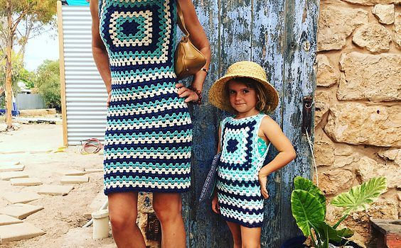 Put those granny square skills to work and create an amazing summer outfit for you and your daughter or/and granddaughter or really for any other dear girl to your heart, in the world. Fun to make and super quick, Audrey Dress by Snakewood & Grace can be modified to suit all sizes. A great looking …
