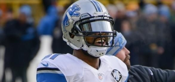Calvin Johnson is still a hot topic with Lions fans, even one year after he has officially retired. [Image via Wiki Commons]