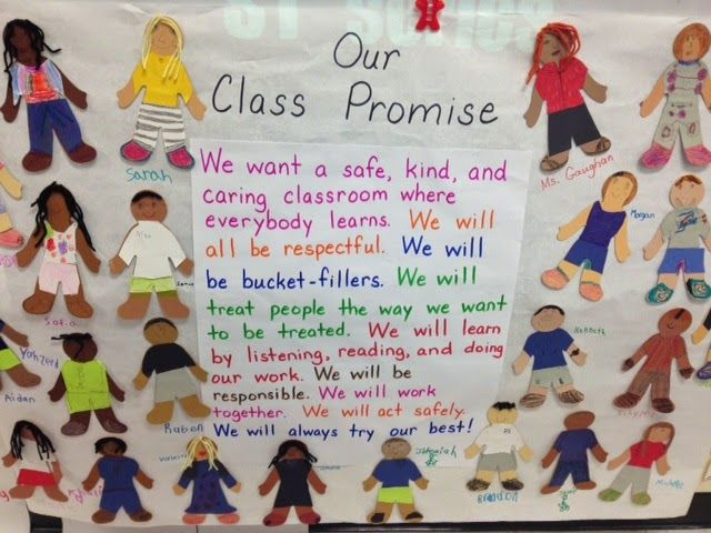 This blog post details how we created our Class Promise during the first week of school.