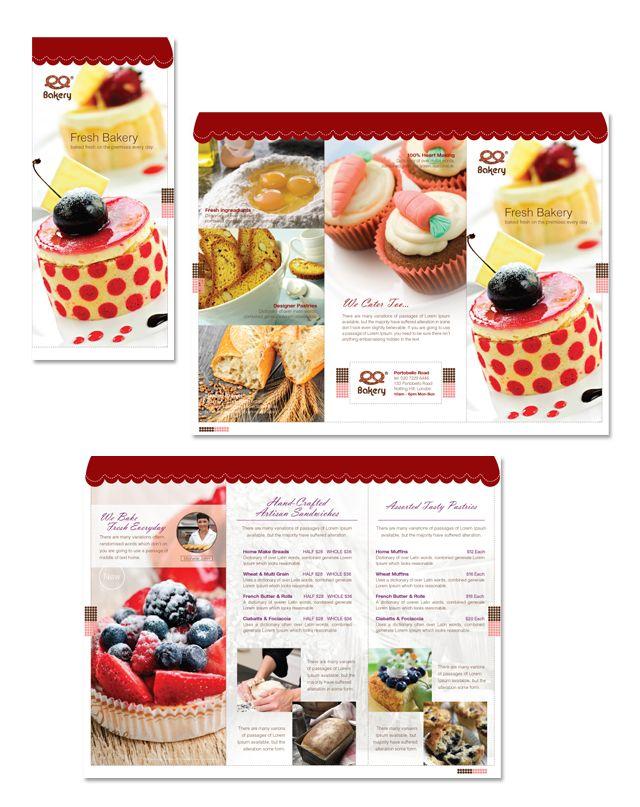 bakery brochures
