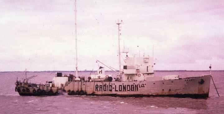 Wonderful Radio London (Big L)-MV Galaxy,North Sea,1964