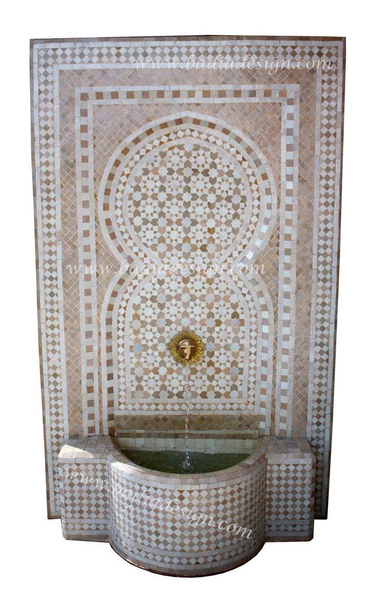 Mediterranean living room los angeles by badia design inc - Badia Design Inc Store Moroccan Mosaic Tile Wall Fountain Mf623 3 500 00 Http