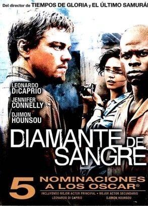 Diamante de sangre (2006) EEUU. Dir: Edward Zwick. Acción. Aventuras. Thriller. Mafia (tráfico de diamantes). Guerra civil de Serra Leona - DVD CINE 1232