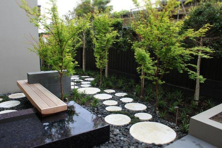 D coration jardin avec gramin es d ornement arbres et for Jardin et design
