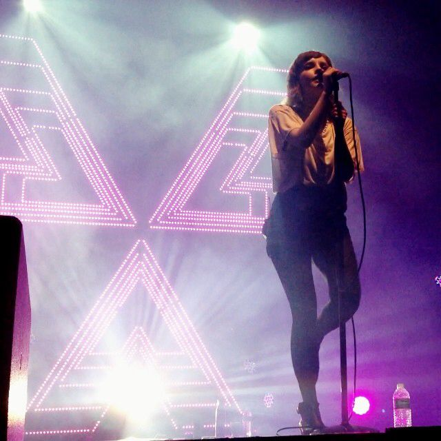 Chvrches live at The Wiltern, Los Angeles!