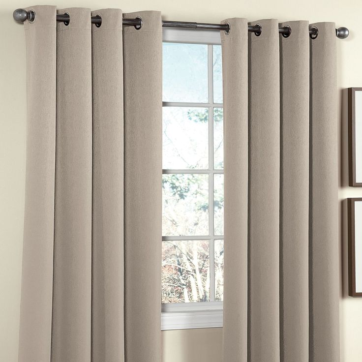 Charlotte Thermal Grommet Panel | Curtains & Drapes | Brylanehome