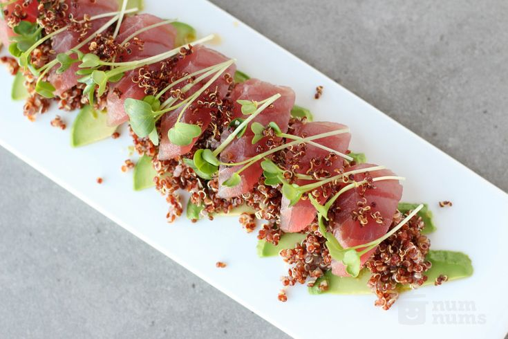 wine kitchen's big eye tuna crudo