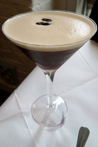 Espresso martini. My cocktail happiness and the only one I can prepare correctly, thanks to The Ivy