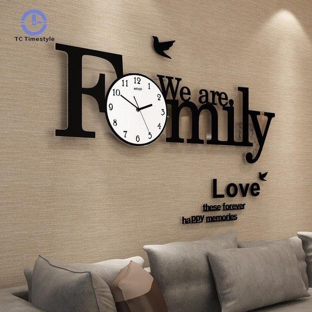 80 Big Wall Clock Big Wall Clocks Wall Clock Modern Wall Clocks Living Room