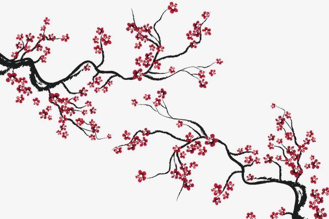 Flor De Cerejeira Flor De Cerejeira O Pano De Fundo Da Decoracao Flores Arquivo Png E Psd Para Download Gratuito Cherry Blossom Art Cherry Blossom Drawing Japanese Art