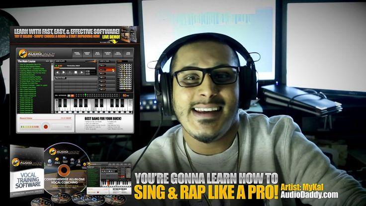 AudioDaddy Vocal Training Software Demo