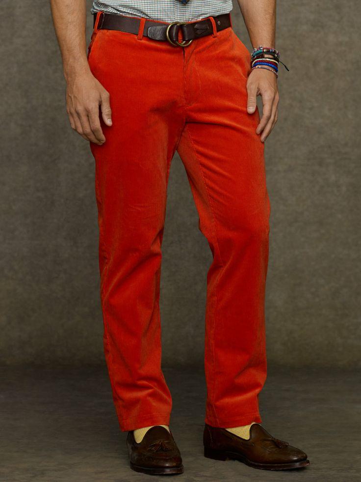 Classic-Fit Corduroy Trouser - Classic  Pants - RalphLauren.com