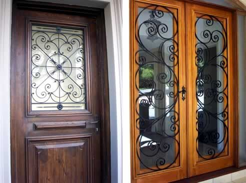 1000 images about ingangsportaal on pinterest foyers - Interior decorative wrought iron gates ...