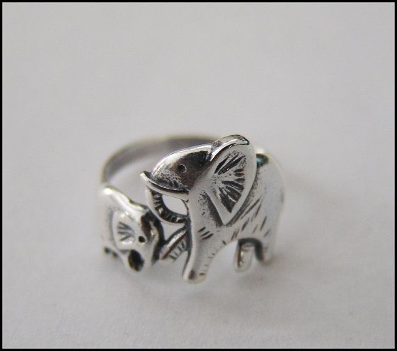 Baby and Mama Ring by BJewelry2014 on Etsy