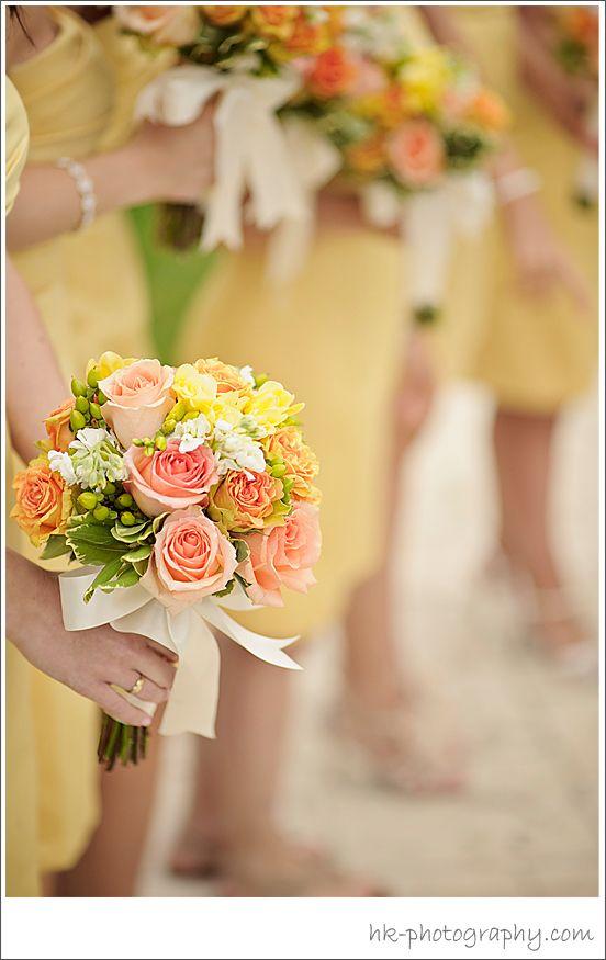 Wedding Flowers - Yellow   HK Photography CT