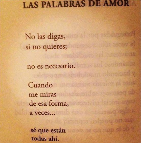 〽️️LAS PALABRAS DE AMOR...