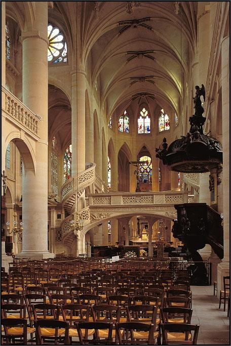 Saint-Etienne-du-Mont Church, Paris, France. - Arnaud Frich Photography