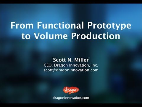 Hack Boston - Scott Miller: From Functional Prototype to Volume Production #manufacturing #hardware #startup