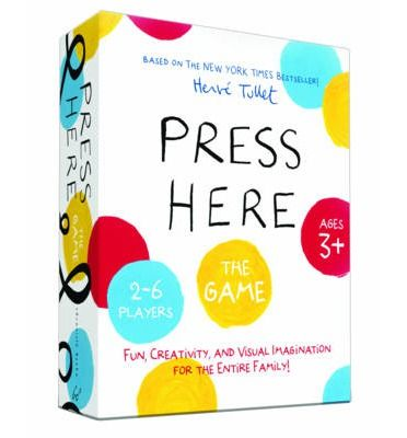 Not just for the countless fans of Press Here, an intriguing family game which challenges young imaginations!