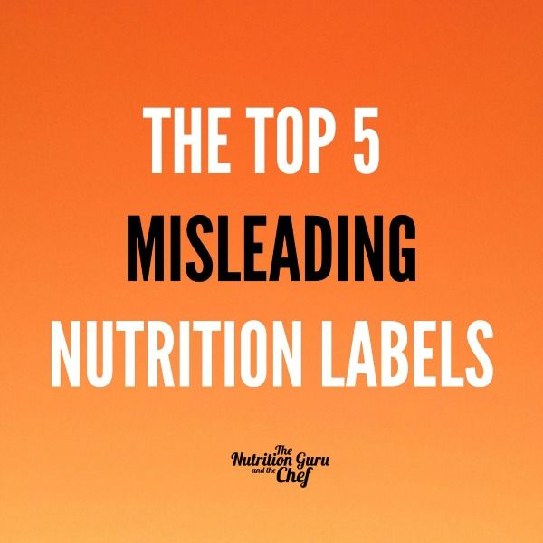food labels misleading Reading labels is a tricky business consumers are more health-conscious than ever, so food manufacturers use misleading tricks to convince people to buy their products.