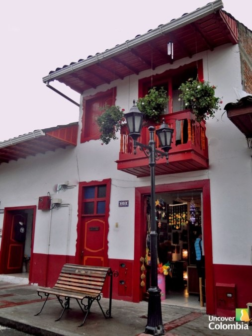 Handicraft shop in Salento