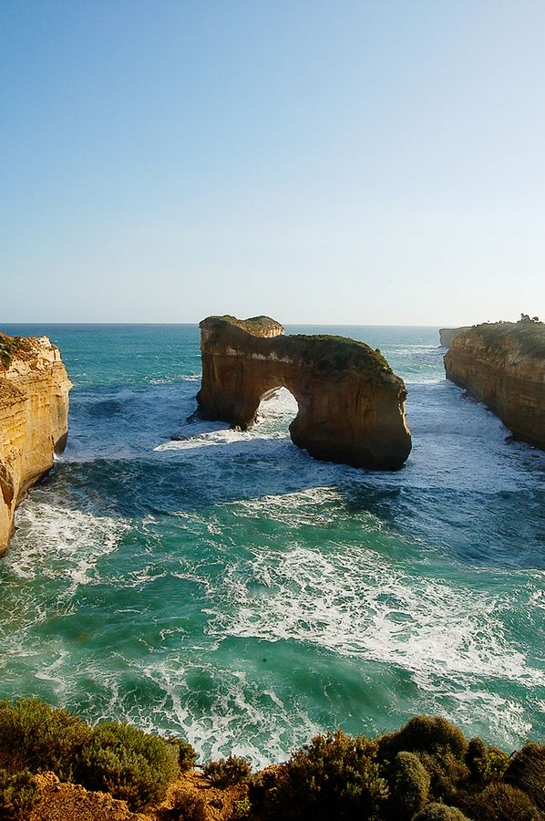 The Great Ocean Road bezocht tijdens de stage in Melbourne