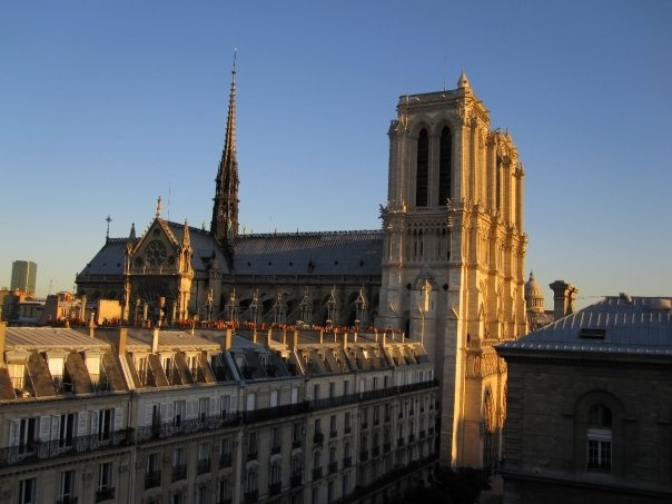 View from or room in Paris 2009 - Notre Dame