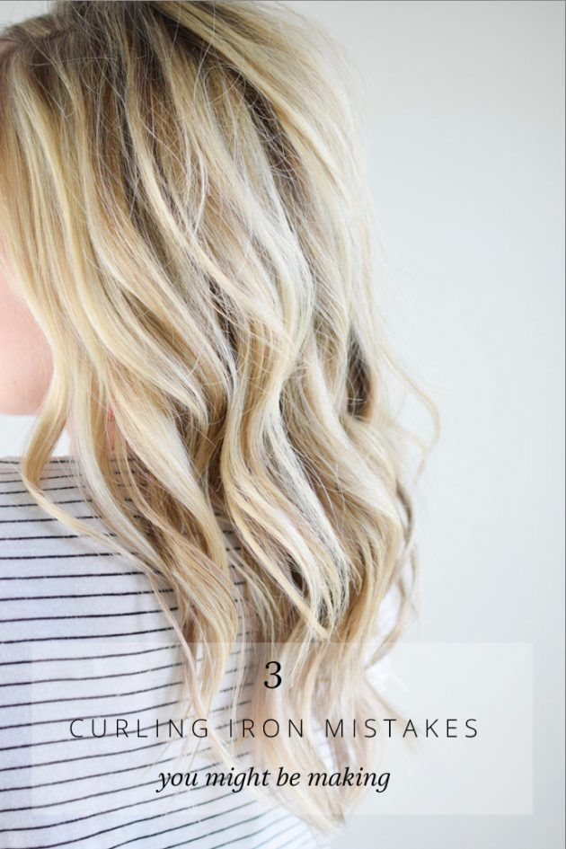 3 Curling Iron Mistakes You Might Be Making | The Small Things Blog | Bloglovin'