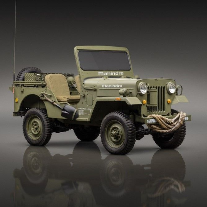 Roxor 7 Decades In The Making Mahindra Jeep Willys Vehicles