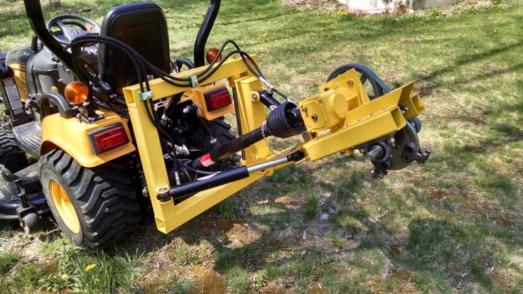 The stump grinder is finally ready for a test run!     One thing the test run showed, was that I needed a way to better tension the belts. I added tensioning screws to the bottom of the a…