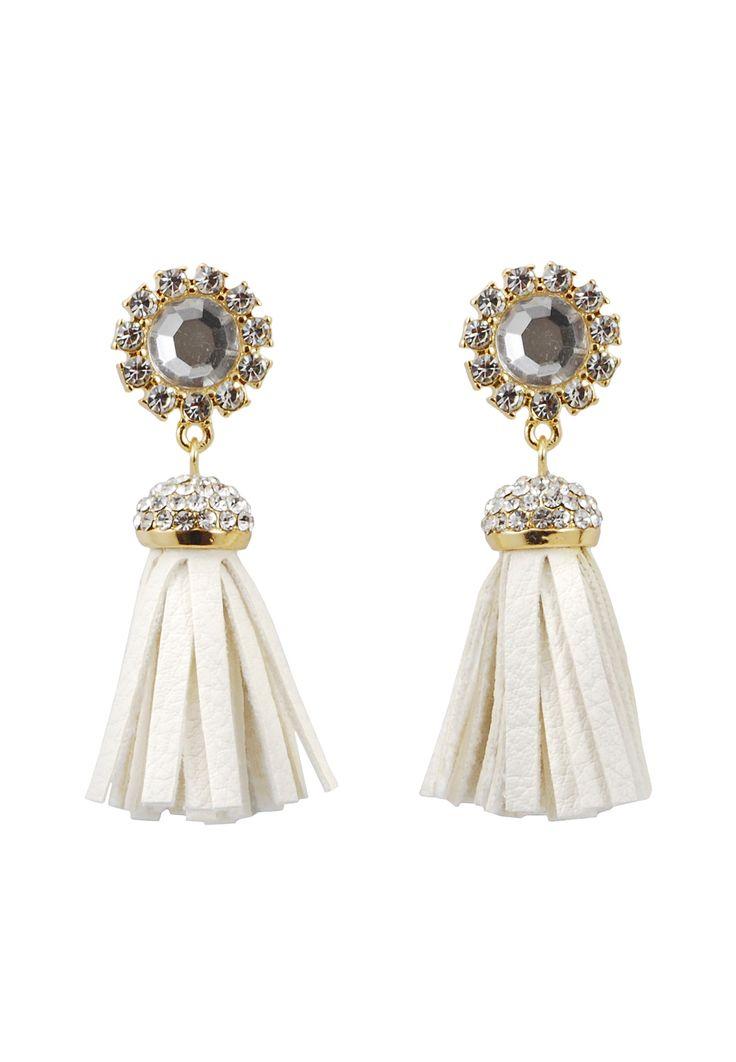 Sasha Gold Fringe Earrings