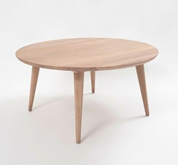 Oskar Coffee Table  Scandinavian inspired design. This ultra modern coffee table nests perfectly with the Oskar Side Table. Made from American oak, with a natural light woodgrain finish.  #americanoak #interiordesign #living #coffeetable #MYHAH