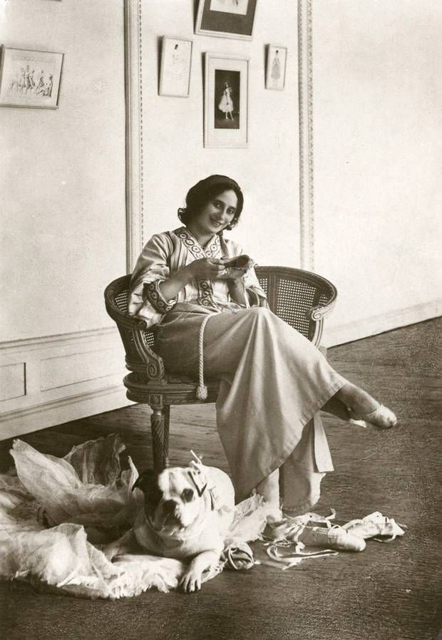 Pavlova preparing her shoes in her apartment in St Petersburg - The Independent