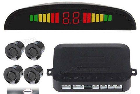 Price:  US $12.46 / Set   Discount Price: US $11.84 / Set 5% off Car Auto Digital LED Display Car Parking Sensor System with 4 Sensors Reverse Backup Car Parking Radar Monitor Detector System
