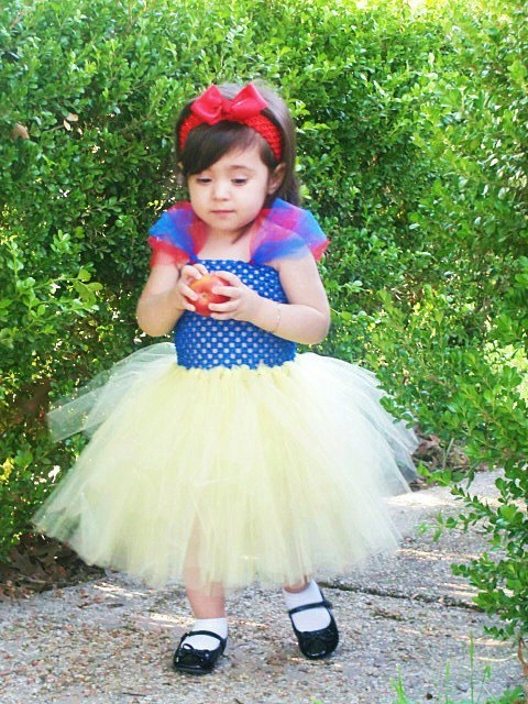 Snow White Princess Tutu Dress Inspired Infant by totsboutique, $40.00