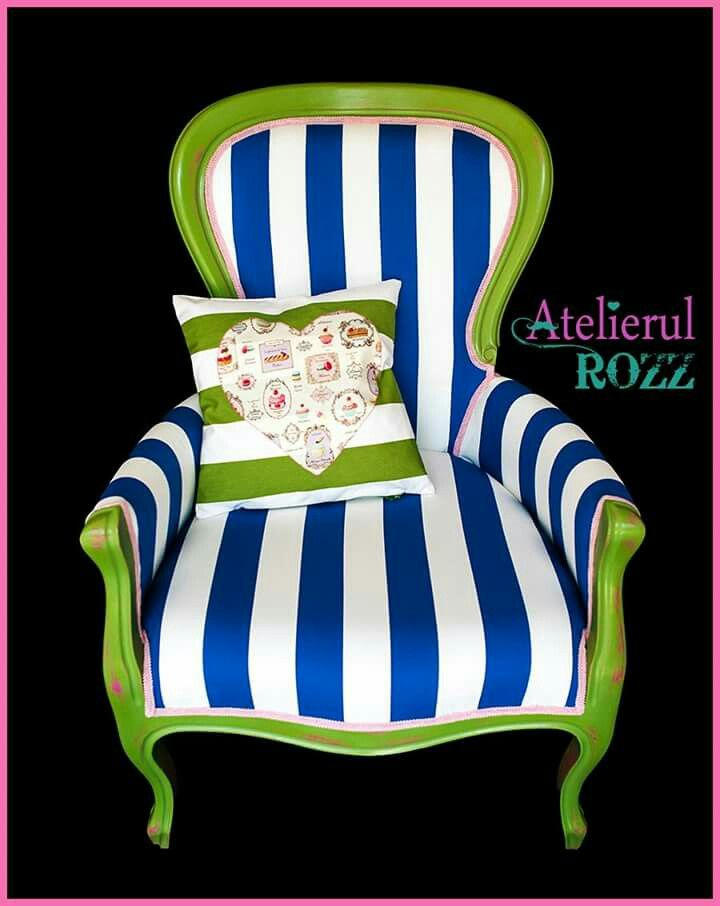 Masterpice of colorful armchairs