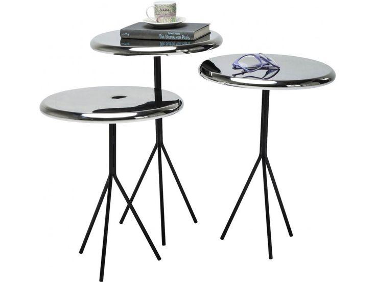 Stolik Kawowy Frisbee (3/Set) — Ławy, Stoliki kawowe Kare Design — sfmeble.pl