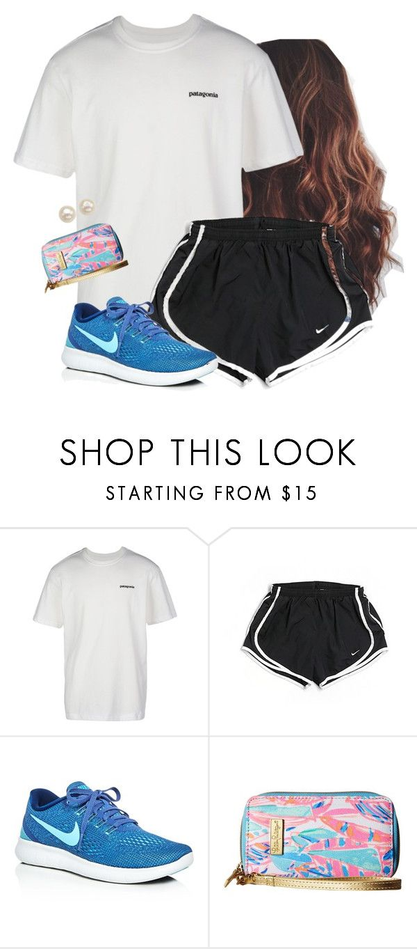 4 days till summer by aweaver-2 on Polyvore featuring Patagonia, NIKE, Lilly Pulitzer and Honora
