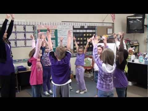 1st Graders Learn Math Concepts Through Dance -- Arts Integration Minute -- September 25, 2012