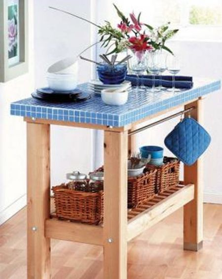 IKEA DIY Kitchen table-island BEKVEM More info: http://en.ikea-club.org/peredelki-ikea/kuxonniy-stolik-ostrovok-bekvem-praktichnoe-preobrajenie.html