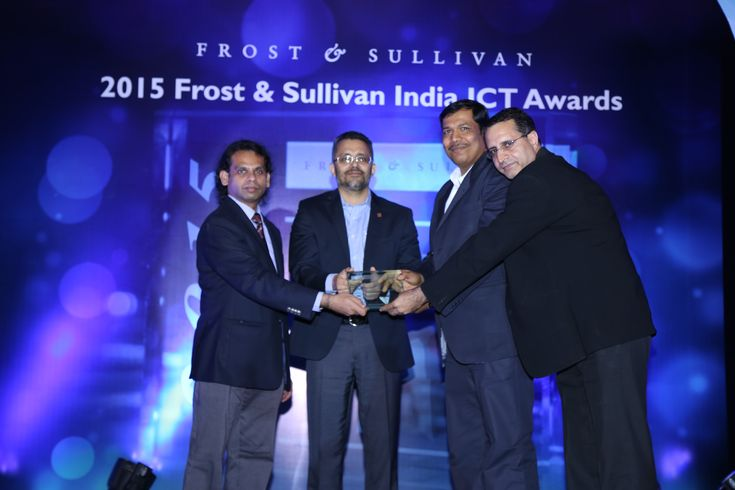 Fortinet Wins 'Network Security Vendor of the Year' Award at the 2015 Frost & Sullivan India #ICT Awards