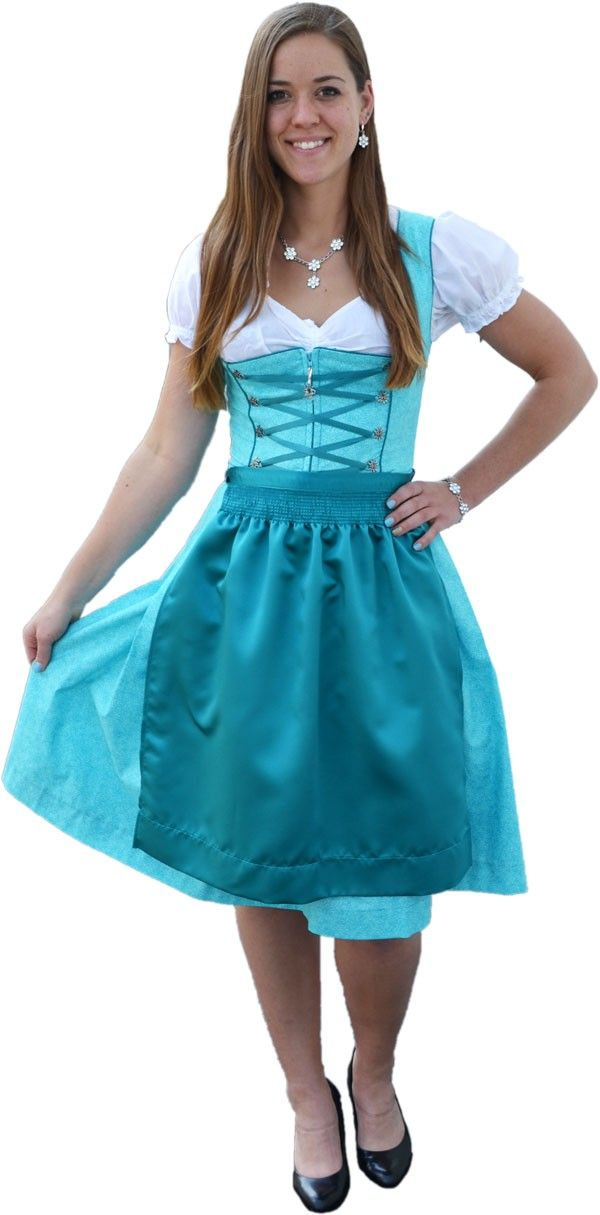 Buy Teela Dirndl with Apron Online | Germany | Ernst Licht, USA