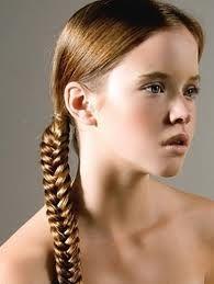 tight side braid